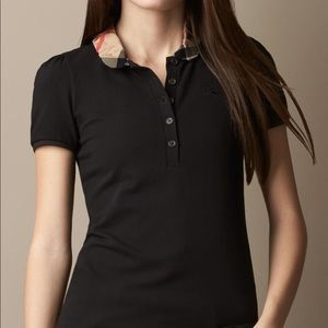 Authentic Burberry Women's Polo - Size S
